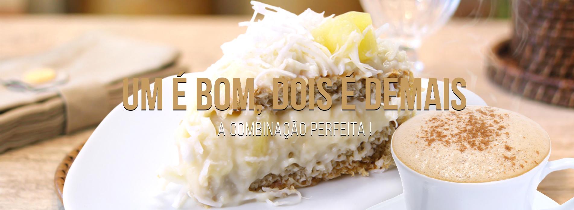 Bolo com Café - Haguanaboka